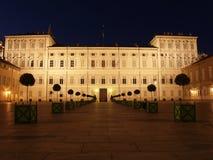 Турин - королевский дворец Стоковые Изображения