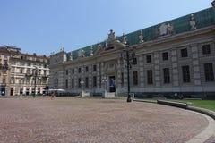 Турин национальная университетская библиотека Стоковые Фото