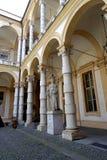 Турин университет статуи Турина Minerva стоковая фотография