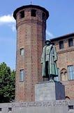Турин Palazzo Madama и Casaforte Acaja Стоковое фото RF
