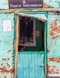 Туристическая информация на входе обелиска Axum, Ethi Стоковые Фотографии RF