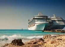 туристические судна стоковая фотография rf