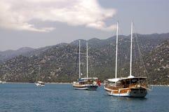 туристические судна Стоковая Фотография