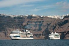 Туристические судна на море Стоковое Изображение