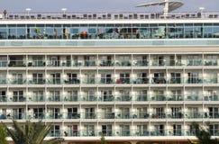Туристические судна на порте 011 Стоковое Изображение RF
