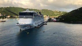 Туристические судна, St. Thomas сток-видео