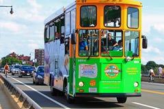 Туристический автобус Бостон Стоковые Изображения RF