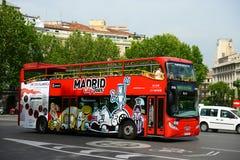 Туристический автобус города Мадрида, Мадрид, Испания Стоковая Фотография