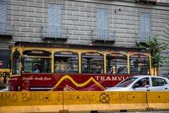 Туристический автобус Неаполь Стоковое Изображение