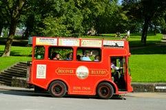 Туристический автобус Buxton стоковое фото