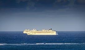 2 туристического судна в Вест-Инди Стоковая Фотография