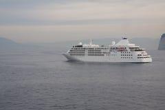 туристическое судно анкера стоковое изображение