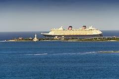 Туристическое судно Дисней Стоковая Фотография RF