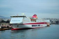Туристическое судно, Стамбул. Стоковые Фотографии RF