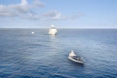 туристическое судно шлюпок Стоковое Изображение