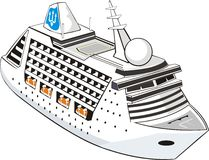 туристическое судно Стоковое Изображение