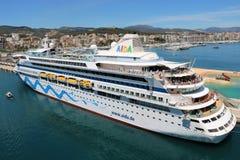 Туристическое судно AidaAura Стоковые Изображения RF