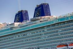 Туристическое судно, Britannia p & круизы o Стоковое Изображение