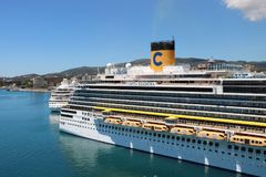 Туристическое судно Diadema Косты Стоковые Изображения RF