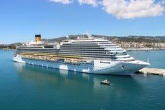 Туристическое судно Diadema Косты Стоковые Фото