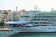 Туристическое судно MV Вентура Стоковые Изображения
