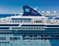 Туристическое судно NCL стоковые изображения