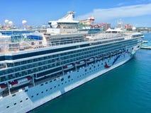 Туристическое судно NCL стоковое фото rf