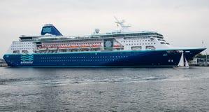 Туристическое судно императрицы Pullmantur Стоковая Фотография RF