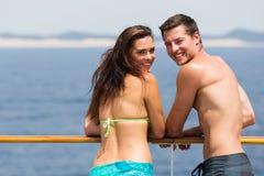 Туристическое судно пар Стоковое Изображение