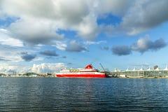 Туристическое судно прибегает bimini мира Стоковое Изображение RF