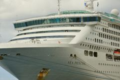 Туристическое судно принцессы моря Стоковые Изображения
