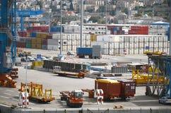 Туристическое судно ХАЙФЫ - 19-ое мая компании Mano, Израиля Стоковая Фотография