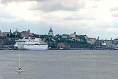 Туристическое судно. Стоковые Фото