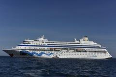 Туристическое судно Aida Cara Стоковая Фотография RF