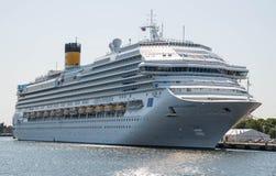 Туристическое судно Favolosa Косты Стоковые Фото