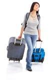 туристская женщина Стоковые Фото