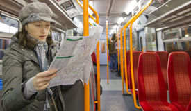 Туристская карта чтения