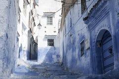 туристские деревни Марокко, Chefchaouen Стоковое Фото