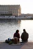 Туристские пары Стоковые Изображения