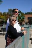 Туристские пары Sightseeing Стоковое Изображение RF
