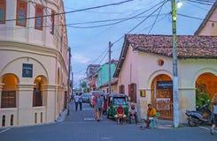 Туристские улицы Галле Стоковые Изображения