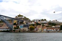 Туристский взгляд Порту, Португалии Стоковое Изображение