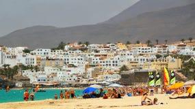Туристский городк-курорт назначения если Morro Jable, Фуэртевентура, Канарские острова стоковое фото