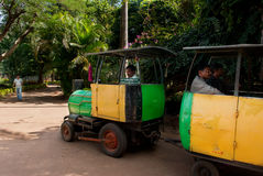 Туристский поезд игрушки Стоковые Изображения RF