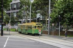 Туристский трамвай 35 в Мельбурне в Австралии стоковое фото rf