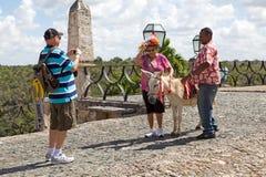 туристы альта chav de n Стоковые Изображения