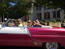 Туристы в Кубе Стоковая Фотография RF