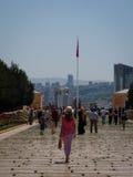 Туристы в Anitkabir, Анкаре Стоковая Фотография RF