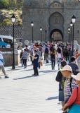 Туристы в Toledo Стоковые Фотографии RF