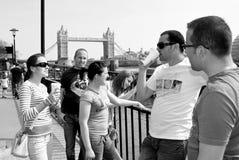 туристы молодые Стоковые Изображения